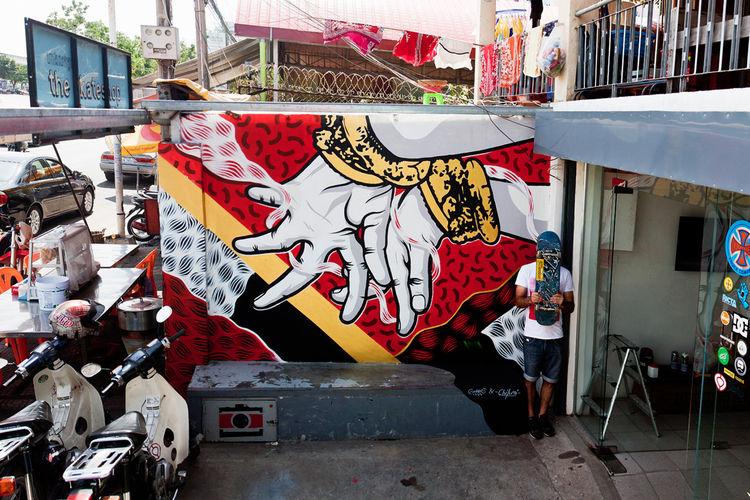 Artwork By Chifumi, Goddog in Phnom Penh