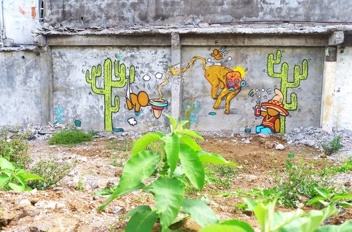 Artwork By Jace, Lelotzin in Saint-André