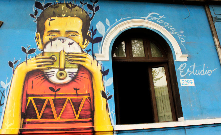 Artwork By Alapinta in Santiago