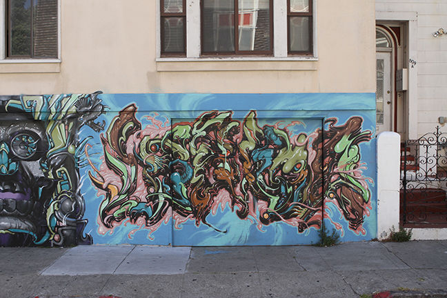Œuvre Par Lango à San Francisco