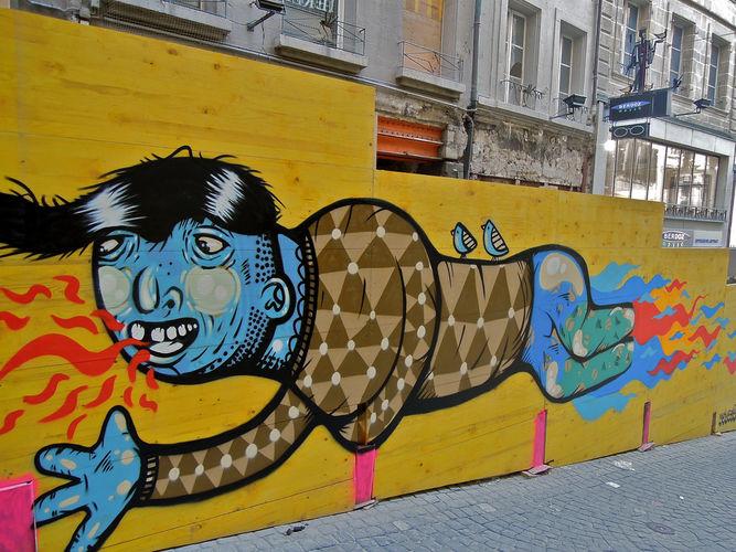 Œuvre Par INSO à Lausanne