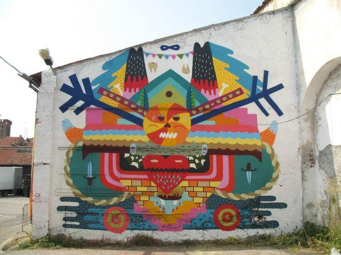 Artwork By zosen in Bassano del Grappa