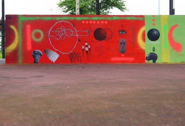 Œuvre Par Xuan Alyfe à Corvera de Asturias