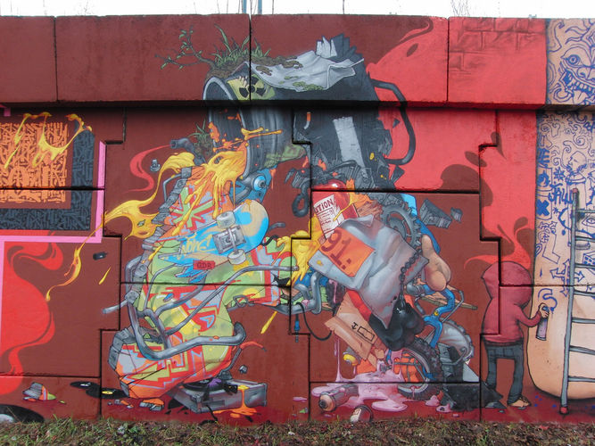 Artwork By Jaw in Palaiseau