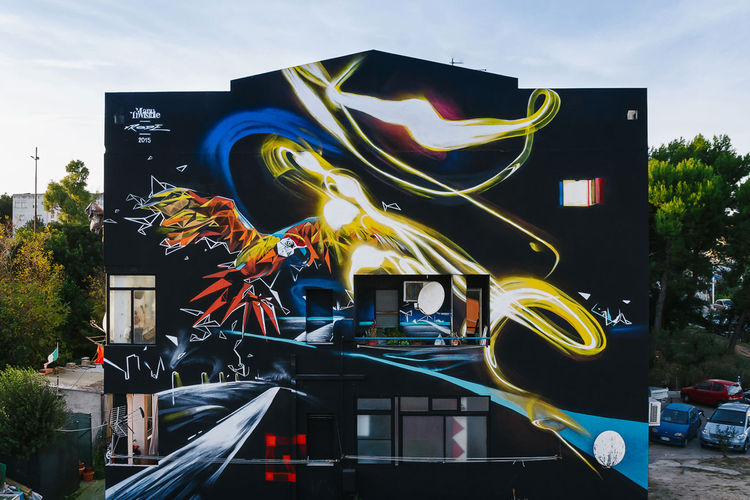 Œuvre Par Manu   Invisible à Milan