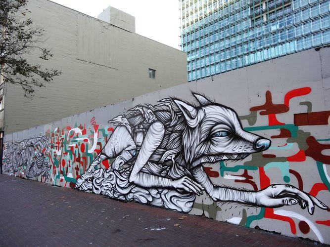 Œuvre Par Zio Ziegler à San Francisco
