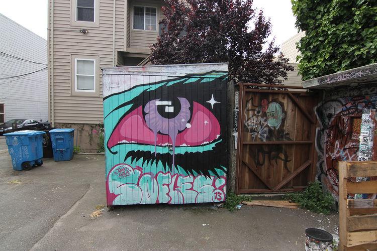 Œuvre Par James Haunt à San Francisco