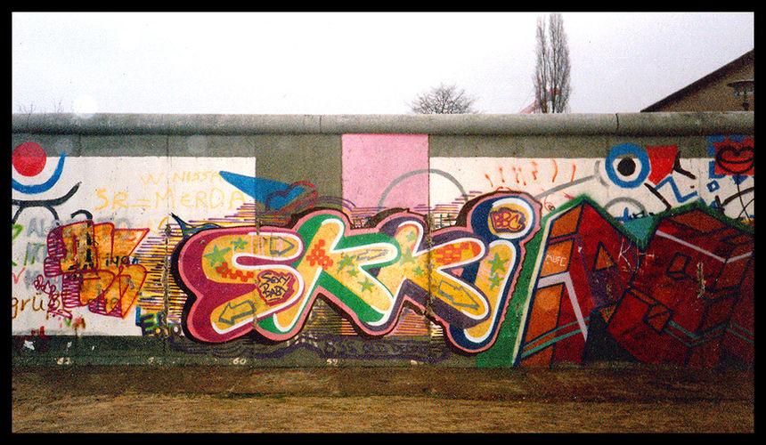 Œuvre Par Skki à Berlin