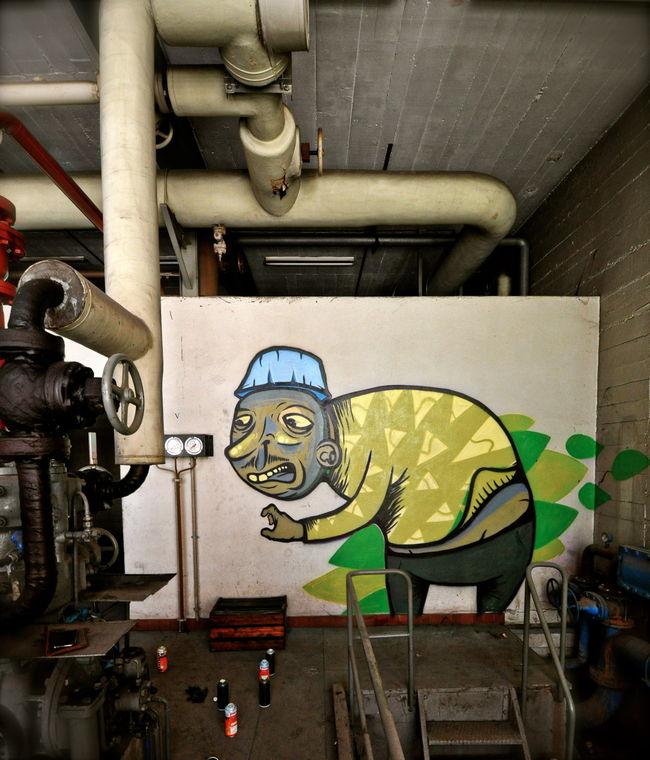 Œuvre Par INSO à Genève, canton de Genève