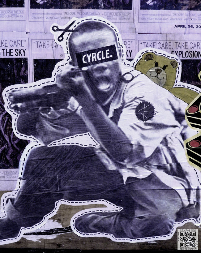 Œuvre Par Cyrcle  à Los Angeles