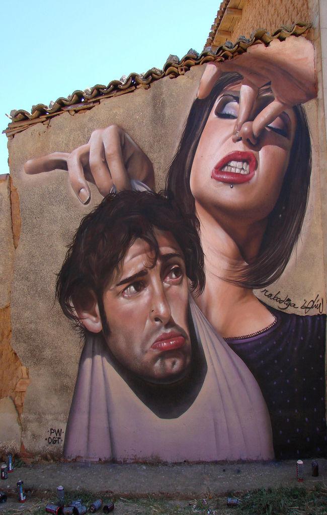 Œuvre Par Rabodiga, Belin à Linares (Réaliste, Humour)