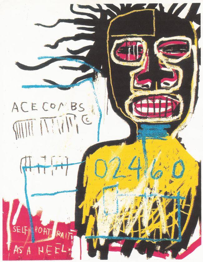 Œuvre Par Jean Michel Basquiat