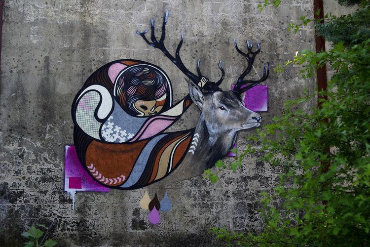 Œuvre Par Goddog à Avignon (Nature)