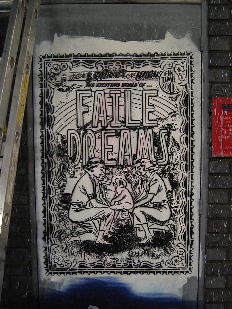 Œuvre Par Patrick Miller (Faile) à Londres