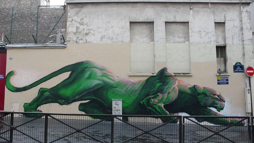Œuvre Par Harry-James à Paris
