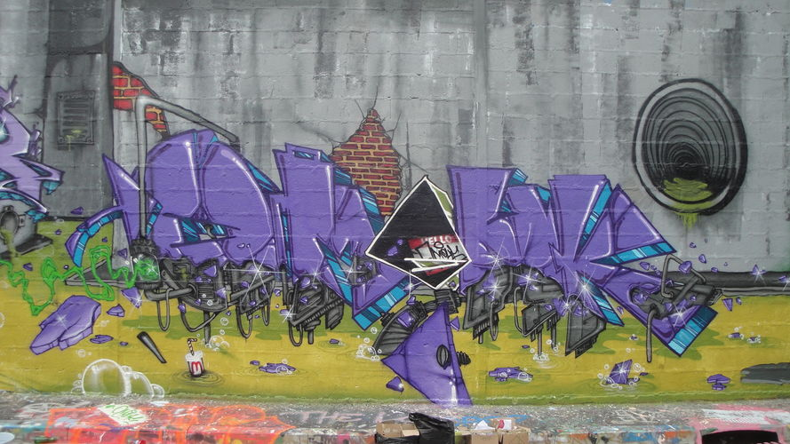 Artwork By OMOUCK in Reims