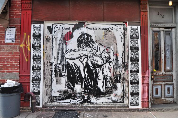 Œuvre Par Patrick Miller (Faile) à New York