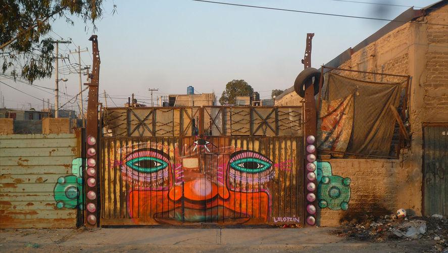 Œuvre Par Lelotzin à Guadalajara