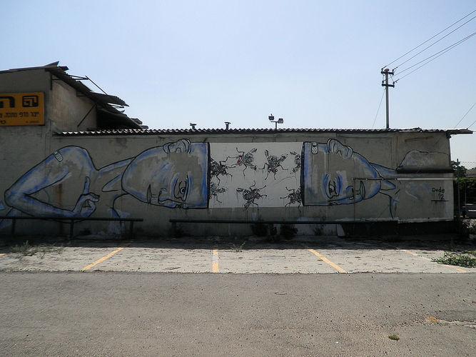Œuvre Par Dede à Tel Aviv-Jaffa