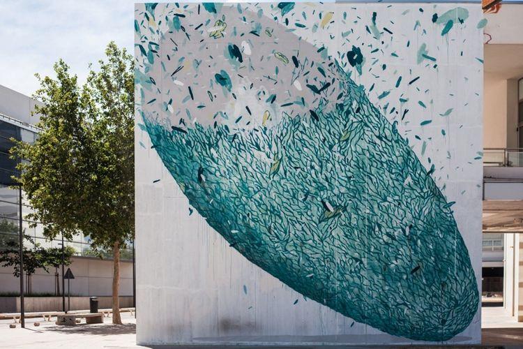 Œuvre Par Tellas à Coristanco (Patterns, Abstrait)
