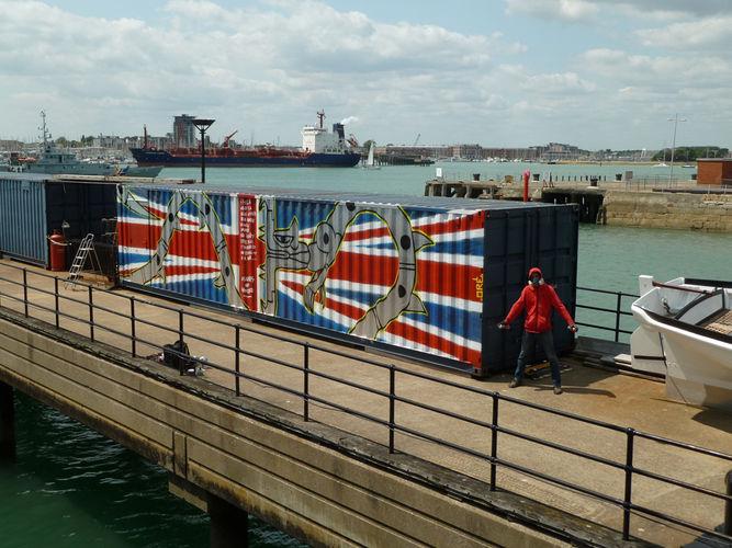 Œuvre Par oré à Portsmouth