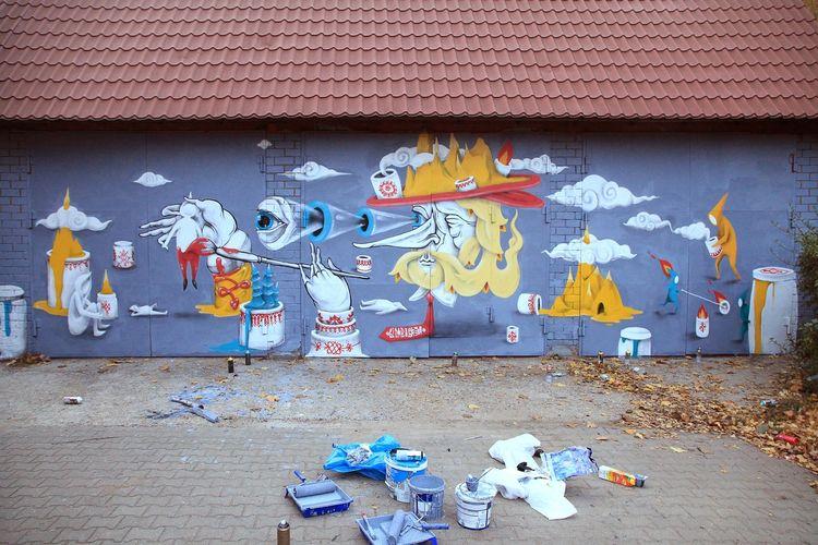 Artwork By Vitae Viazi in Moscow