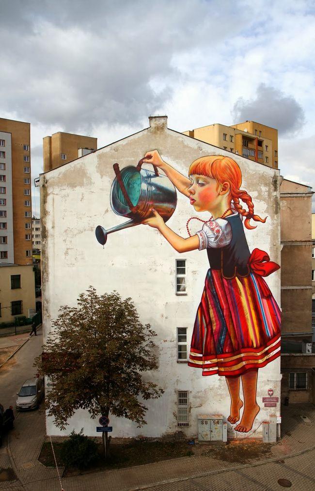 Artwork By Natalia Rak in Białystok