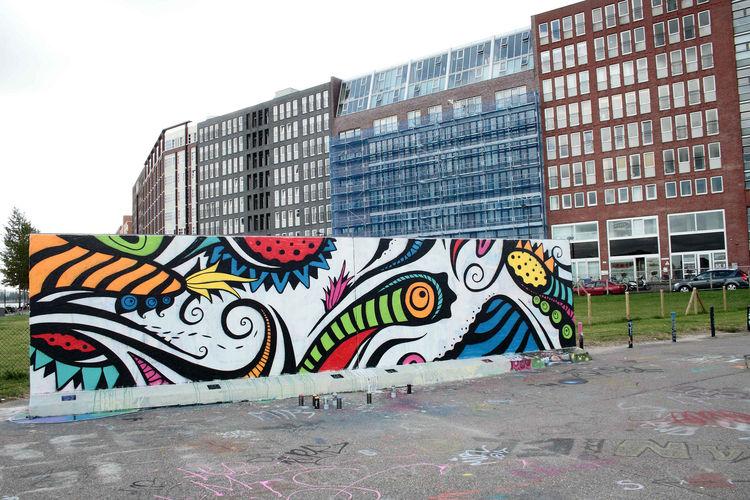 Artwork By Skount in Amsterdam