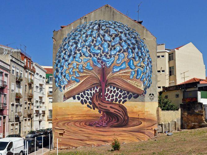 Œuvre Par Violant à Lisbonne
