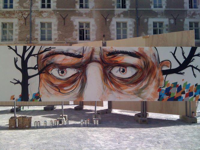 Œuvre Par ERICK à Angers