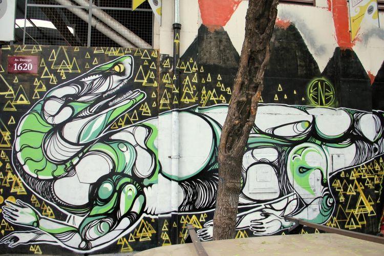 Artwork By ene ene in Buenos Aires