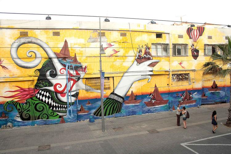 Œuvre Par Skount à Tel Aviv-Jaffa