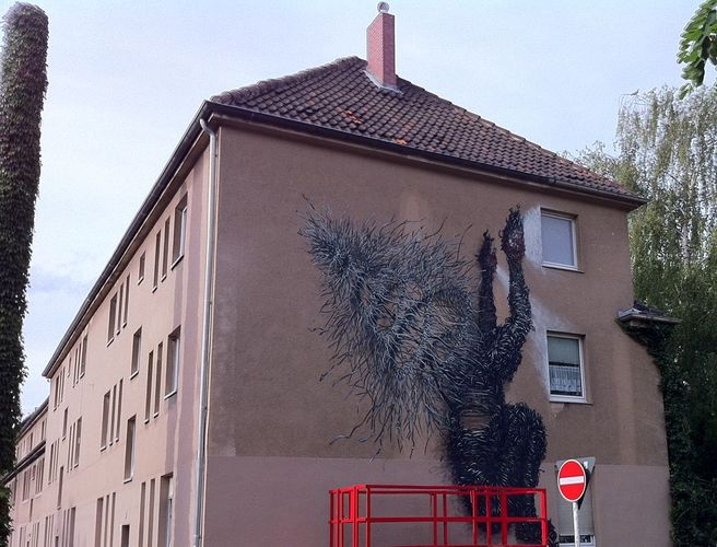 Artwork By DALeast in Cologne