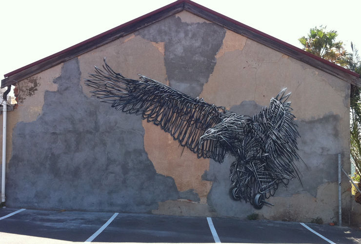 Artwork By DALeast in Cape Town
