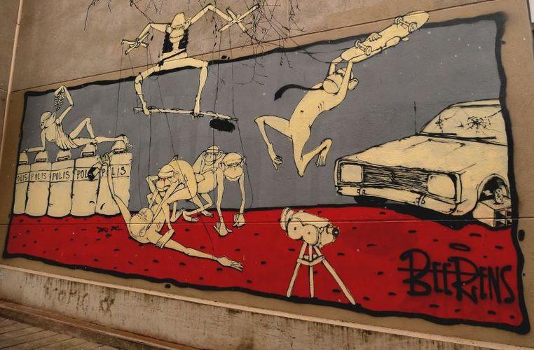 Artwork By Beerens in Paris