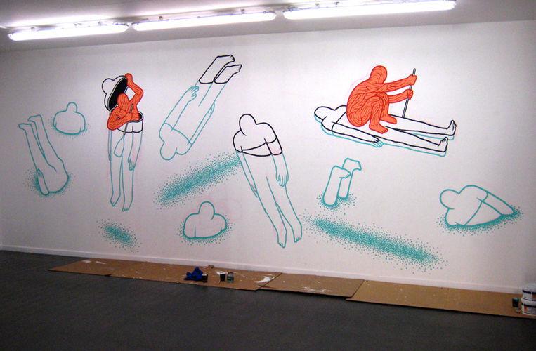 Artwork By Daan Botlek in Rotterdam