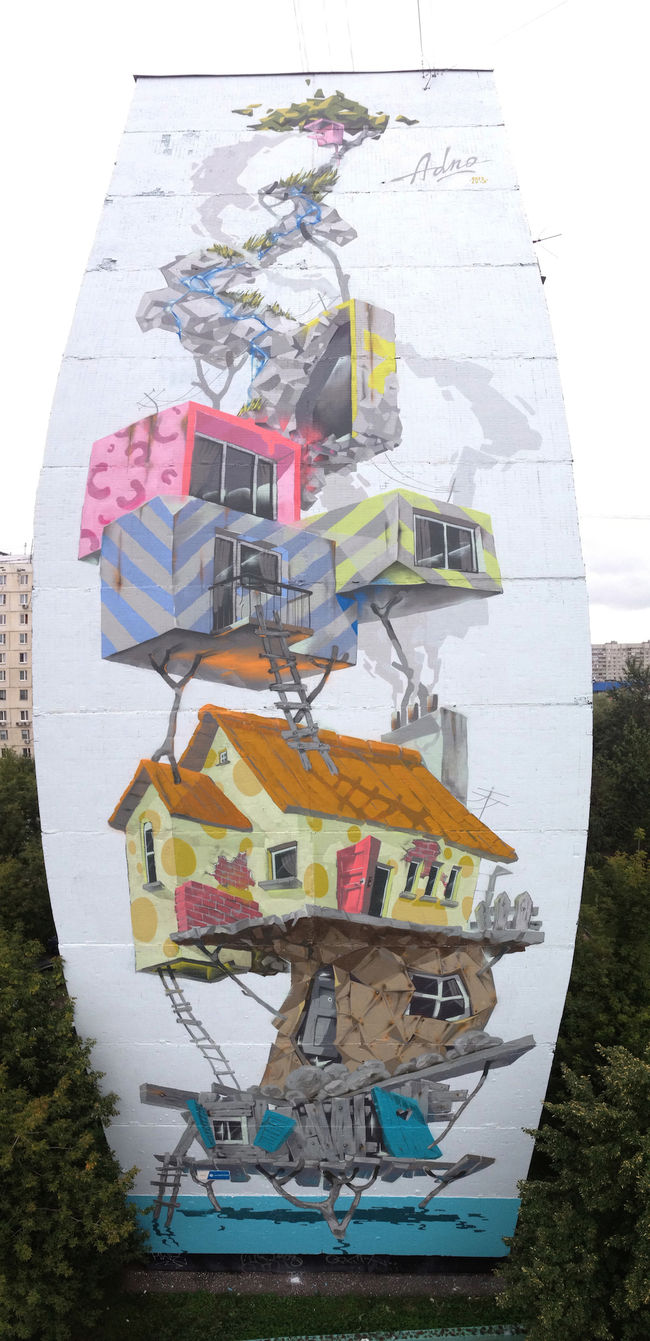 Artwork By Adno in Moscow