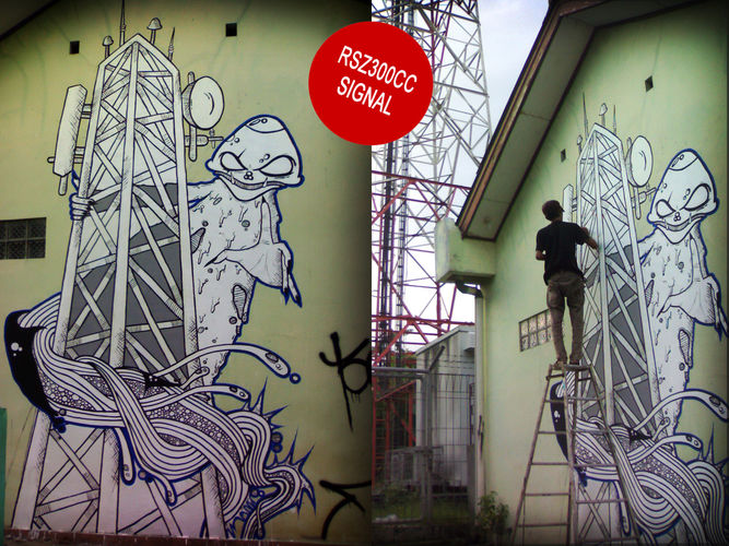 Œuvre Par MUSTBOYS à Djakarta centre, Jakarta