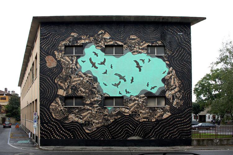 Artwork By M-City in Trezzo sull'Adda