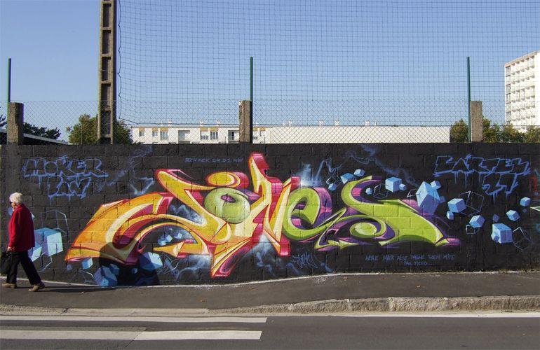 Œuvre Par Jone  à Brest