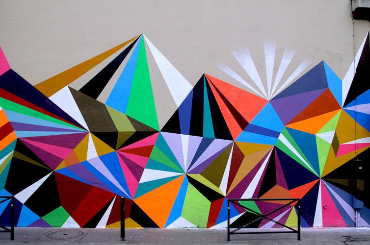 """Œuvre Par Matt W. Moore """"MWM"""" à Paris"""
