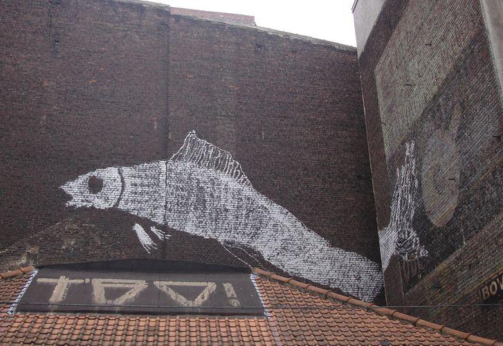 Œuvre Par bonom à Bruxelles (Nature)