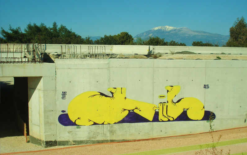 Artwork By Bilos in Patras