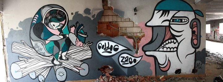 Œuvre Par Pablito Zago à L'Isle-sur-la-Sorgue