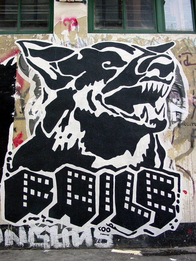 Artwork By Patrick Miller (Faile) in New York City