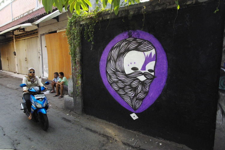 Œuvre Par Goddog à kabupaten de Badung