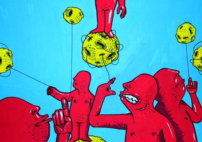 Œuvre Par Go Mes à Porto (Illustration)