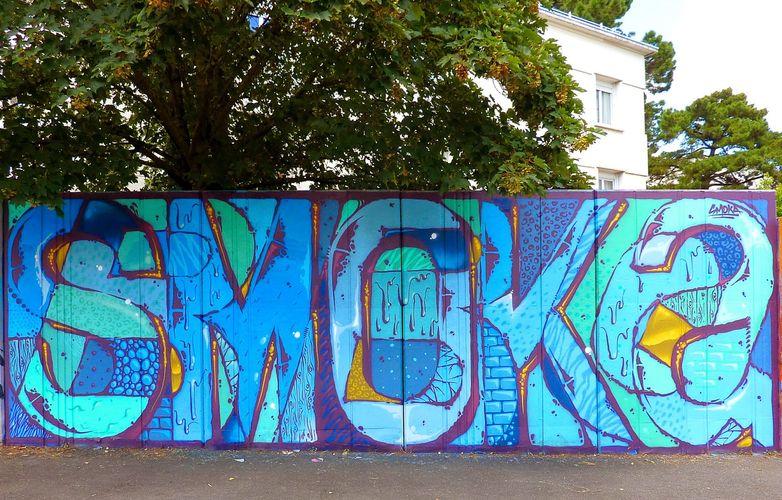 Œuvre Par SMOKA à Nantes
