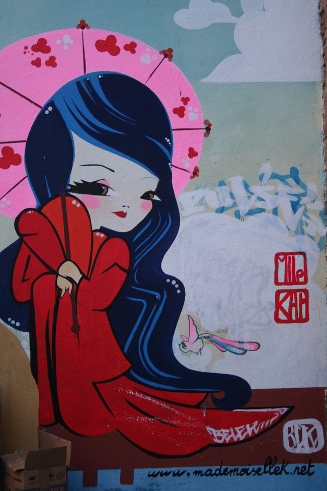 Artwork By Mademoiselle Kat in Toulouse