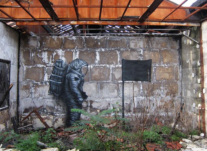 Artwork By DALeast in Paris
